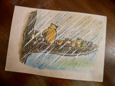 E.H. Shepard Pooh Bear Study illustration drawing pen and ink kids illustration watercolor ink shephard bear pooh master study winnie the pooh