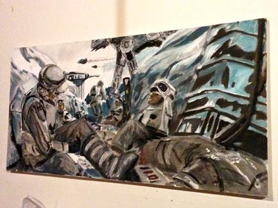 Ralph McQuarrie Tribute Painting