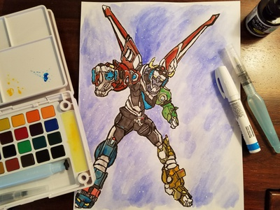 Voltron - Watercolor of the Universe