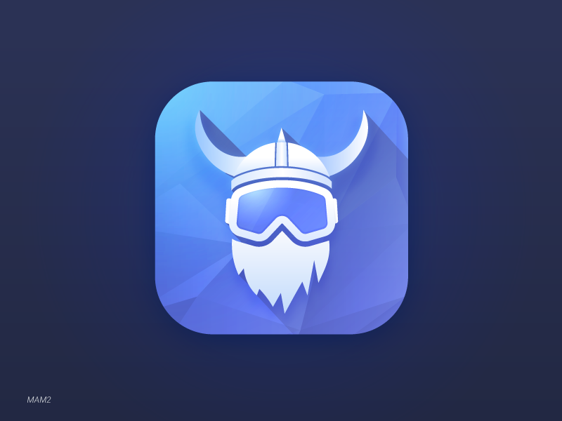App icon for Freestyle Snowboard/Skiing app