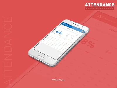 Attendance Screen - Mobile App