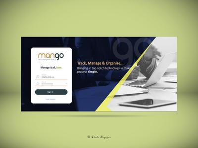 Mango   Login Screen