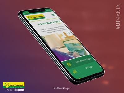KVB - Website Redesign (Mobile Responsive)   UI Design