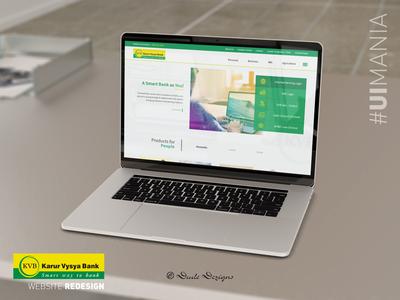 KVB Website Re-Design   UI Design