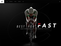 Cervelo Landing Page