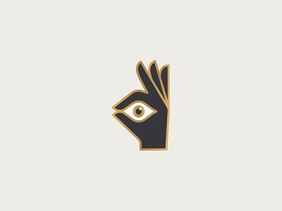 Design Eye hand ok a-ok eye design