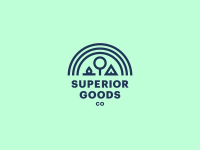 Superior II rejected minnesota logo brand clothing
