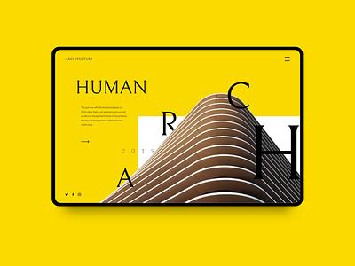 Arch Bureau | design concept principle vector interface slider interaction design ui concept animation