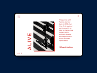 Alive Shot    design concept