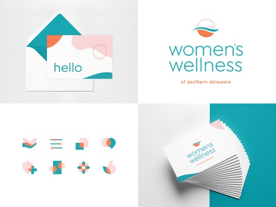 Women's Wellness brand graphic design design print logo branding gynecology