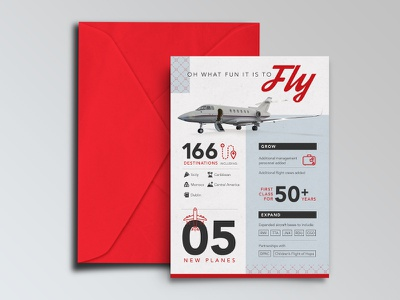 Holiday Card Infographic print iconography jet infographic holiday card