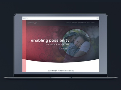 Homepage Concept science health medical
