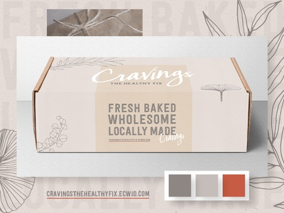 Cravings Packaging Design art direction the healthy fix gluten free vegan packagingdesign graphicdesign