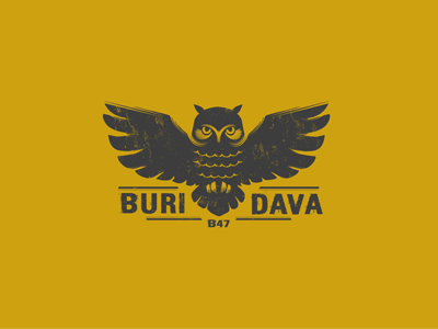 Buridava wine behance branding brazil brasil logotipo romania logo brand logotype bird owl