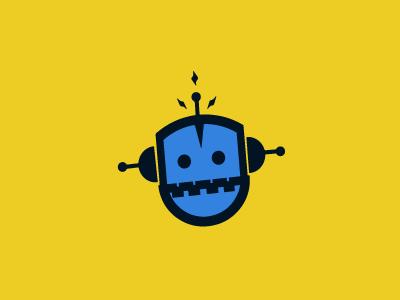 Robot logo brand