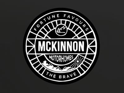 Brand for Mckinnon Motorhomes