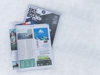 Snow Holiday & Snow Cab adverts in ski press.