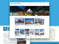 Snow Holiday Booking Website