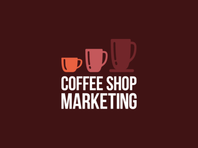 Coffee Shop Marketing Logo