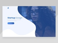 Company Startup Landing Page Exploration