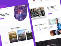 Tophat Homepage Redesign Concept