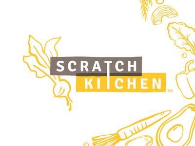 Scratch Kitchen Final food photography photography banner tote bag bag t shirt tshirt design tshirt uniform illustration restaurant brand identity identity design logo branding