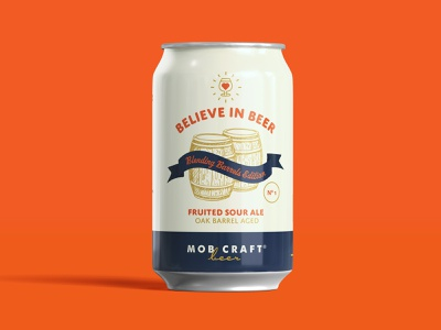 Believe in Beer: Blending Barrels Edition Final beer art packaging design packaging beer can design beer can beer label beer
