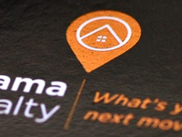 Odama Realty Business Card