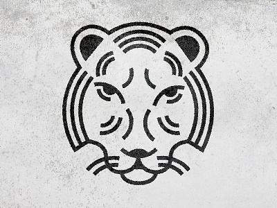Tiger tiger illustration texture animal line art