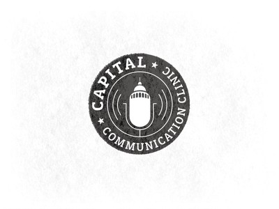 CCC Badge speech therapy communication communications capital badge mic