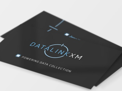 DatalinkXM glow power symbol power datalink business card