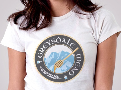 Greysdale Mead Shirt greysdale mead label logo tshirt t-shirt illustration greysdale mead honey water