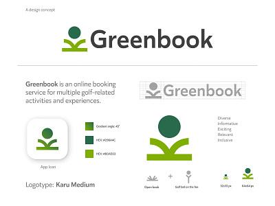 Greenbook adobe illustrator adobe xd concept branding logo