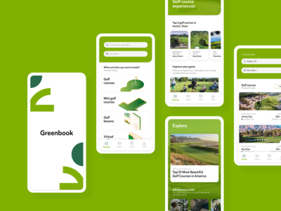 Greenbook Mobile App Design
