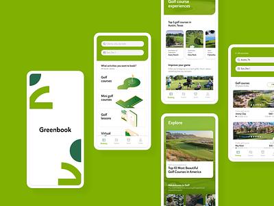 Greenbook – Mobile App Design visual mobile app design illustration adobe illustrator ui design adobe xd