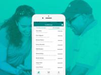 Staff messenger mobile app