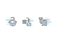 Icons for Gas Laboratory website!