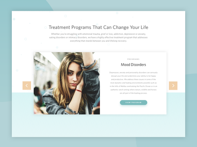 Mental Health Programs Slider simple medical cards health