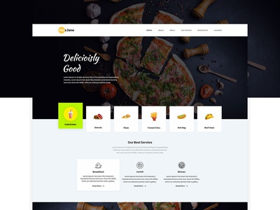 Pizza Zone - Food lovers