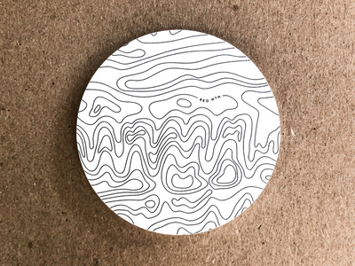 Red Mountain Decal red mountain decal map topography