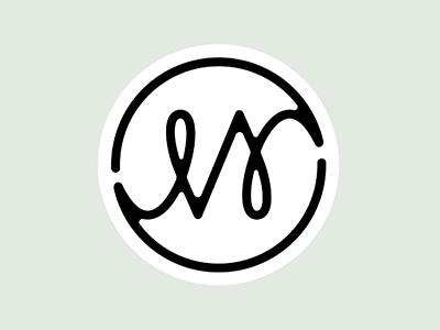 JMV Logo Concept #3 logo branding circle simple minimal monogram