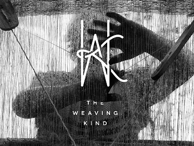 The Weaving Kind Logo k w monogram branding logo weaving