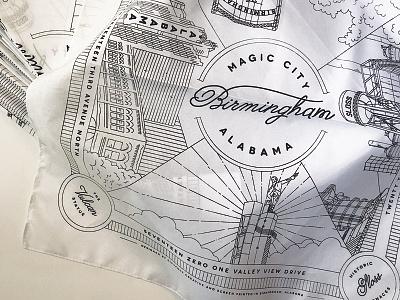 Birmingham Bandana vulcan alabama birmingham bandana