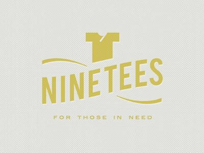 Ninetees tee shirt 9 logo