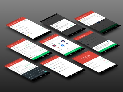Peppertap Payment Flow offers checkout ecommerce android ux ui material design peppertap groceries banking mobile payment