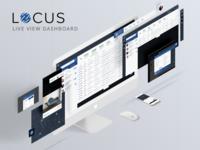 Locus Live view Dashboard