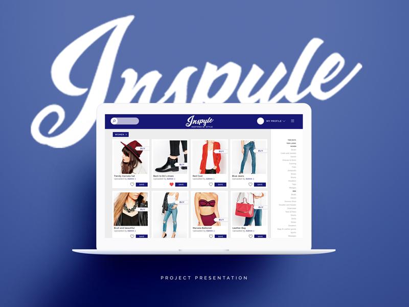 Inpsyle - New Fashion Society by Marya Romanova on Dribbble