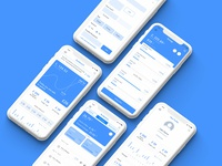 Finance App - Wireframes