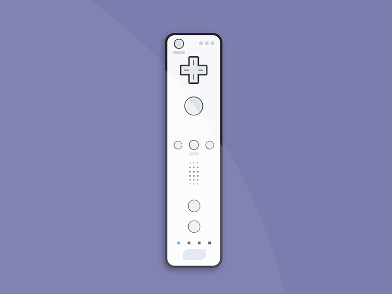 Wiimote by Tory Martin on Dribbble