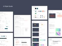 UI Style Guide for Engagement Management Platform